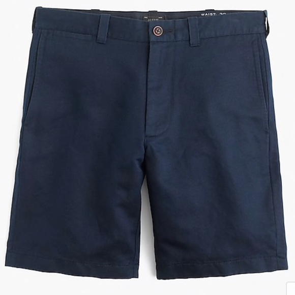 J. Crew Other - J. Crew Navy Irish Linen Cotton Shorts